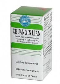 Chuan Xin Lian - 100 Pills