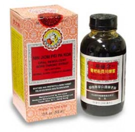 Nin Jiom Pei Pa Koa Cough/Sore Throat Syrup - 18oz/300ml