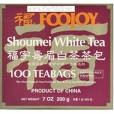 Foojoy Chinese Shoumei White Tea - 100 bags